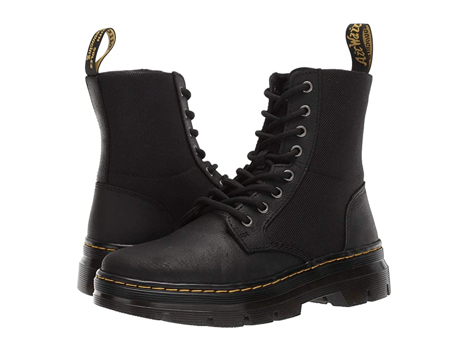 Dr. Martens Combs II Tract (Black) Boots