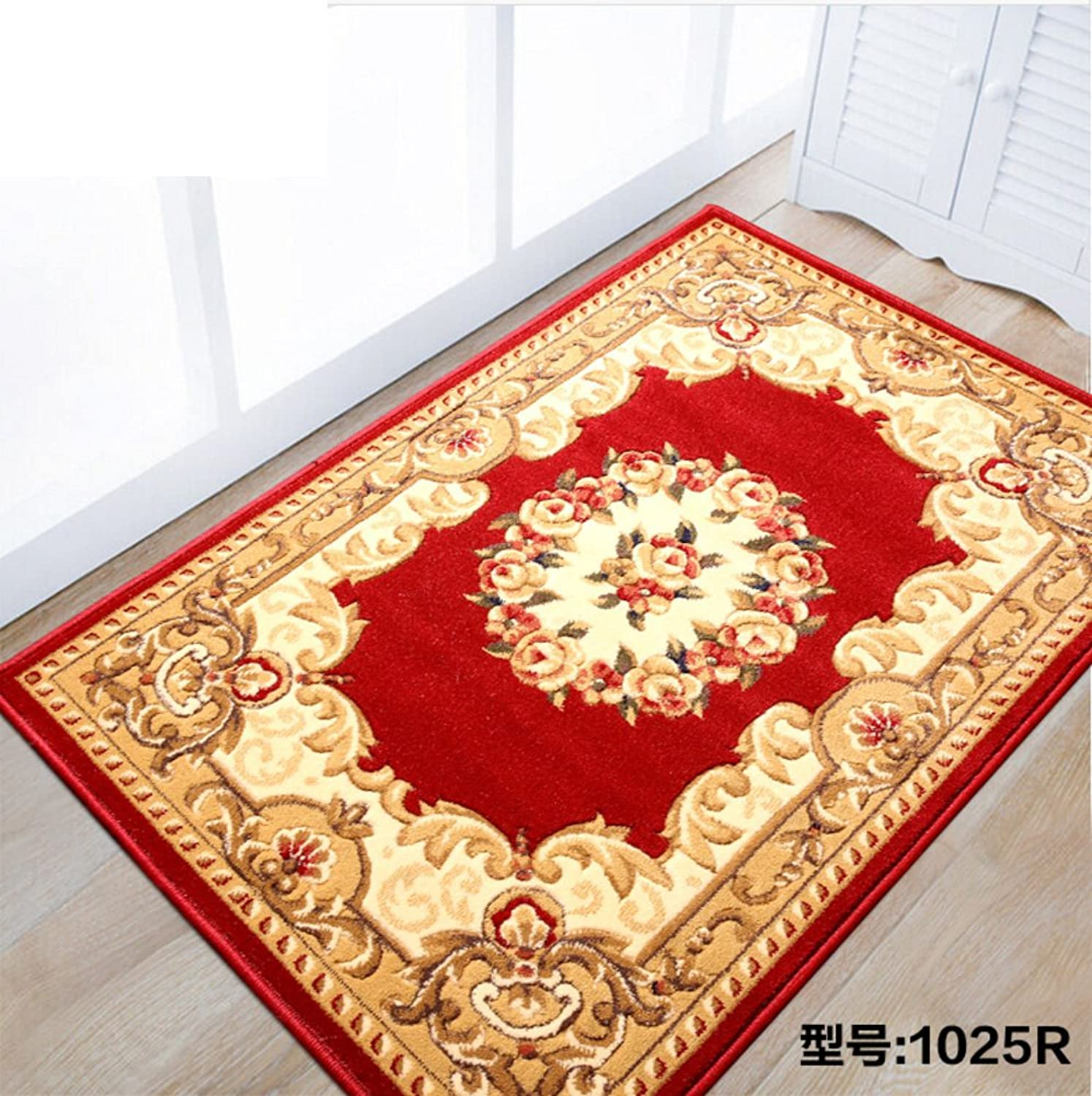 Living Room,Tea Table Mats Bedroom,Bedside Blanket Bay Window Mat Simple Fashion Floor Mats European Thick Door Mat Floor Mat-A 80x100cm(31x39inch)