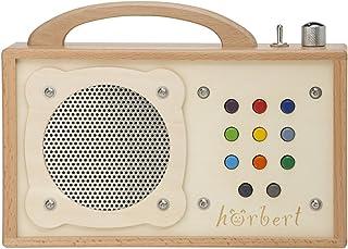Lecteur MP3 pour Enfants : hörbert – en Bois. Haut-Parleur intégré, limiteur de..