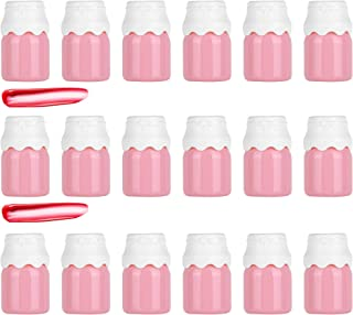 YARUMI Creative Lipgloss Tube,8 ml Novelty Milk Bottle Shaped Empty Lip Gloss Tubes Lip Balm Refillable Containers with Ap...