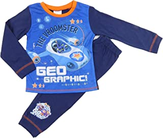 The Pyjama Party Fireman Sam Boys Character Pyjamas Sleepwear 18-24m to 4-5y Great Styles Thomas Hey Duggee (Go Jetters Vroomster, 18-24 Months)