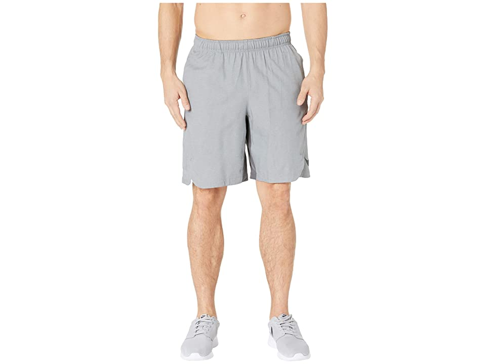 Nike Baseball Shorts (Dark Grey Heather/Anthracite) Men