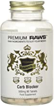 Premium Raws Carb Blocker Tablets Weight Management 400mg White Kidney Bean Extract per Tablet 90 Tablets Estimated Price : £ 8,25