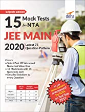 15 Mock Tests for NTA JEE Main 2020 - Latest 75 Question Pattern