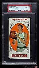 1969 Topps # 20 John Havlicek Boston Celtics (Basketball Card) PSA 8 - NM/MT Celtics