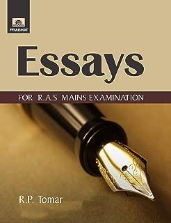 ESSAYS FOR R.A.S. MAINS EXAMINATION