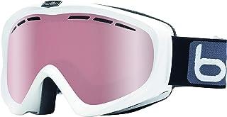 Bolle Y6 OTG White Shiny/White Shiny | Medium-Large - Snow Goggles Unisex-Adult