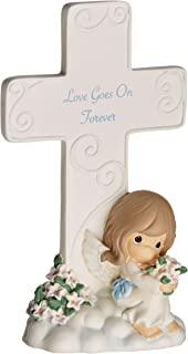 Precious Moments 152401 Love Goes On Forever Resin Cross