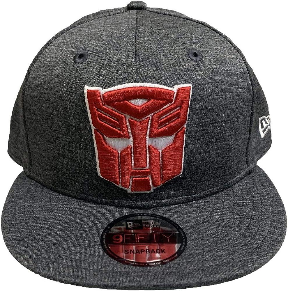 New Era 9FIFTY Snapback Hat Transformers Autobot Symbol Shadow Tech Cap Grey