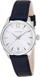 Hamilton Women's Analogue Quartz Watch with Leather Strap H42211655