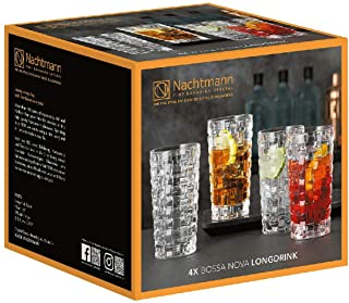 Nachtmann Longdrinkglas Bossa Nova 395ml 4er Pack