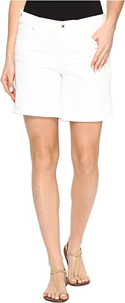 The Roll Up Shorts in White