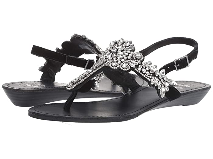 Yellow Box  P-Vallen (Black) Womens Sandals