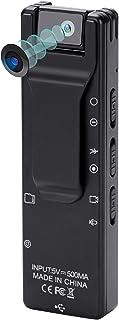 小型カメラ 人体温度検知機能 録画 ビデオカメラ 超小型カメラ 180度回転レンズ 長時間録画1920×1080P 高画質 高解像度 動画 自動 天地 センサー 画像調整 32GB マイクロSDカード対応 日本語取説