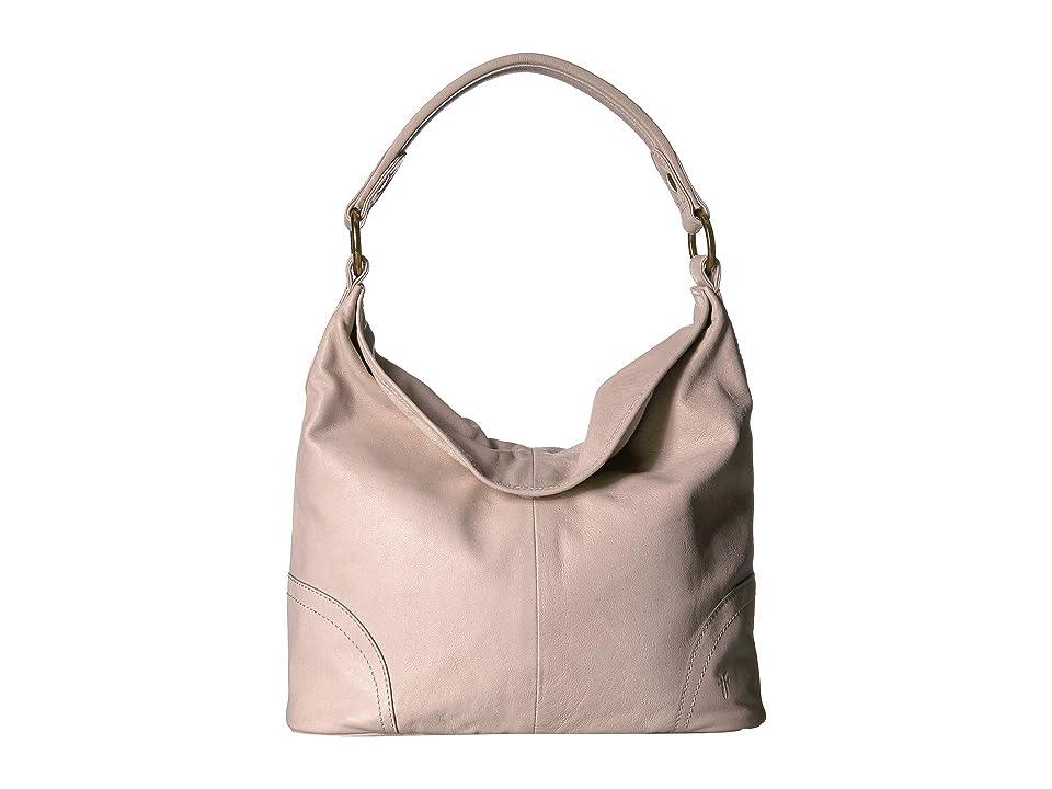 Frye Madison Hobo (Stone Soft Vintage Leather) Hobo Handbags