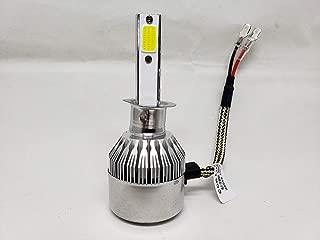 ECA LED C6 Led Headlight Bulbs - 72W 7600LM 6000K H1,  H3,  H4,  H7,  H10,  H11,  H13, 9004, 9005, 9006, 9007, 880,  5202 (H1)