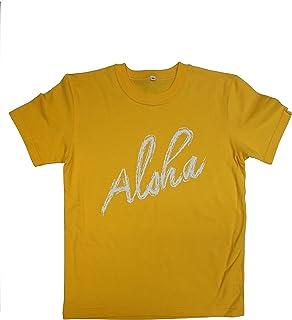 アロハロゴプリントTシャツ
