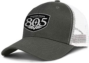 LQGAD Army_Green 805-beer-logo- Men Womens Mesh Trucker Cap Adjustable Snapback Beach Hat