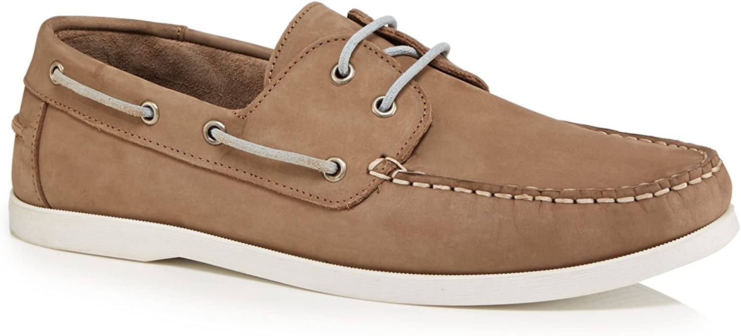 Hammond & Co. By Patrick Grant Men Natural 'Yale' Boat shoes