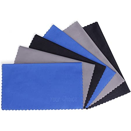 Tablets Lenses and Other Delicate Surfaces for All LCD Screens 47th Street Microfiber Cleaning Cloth