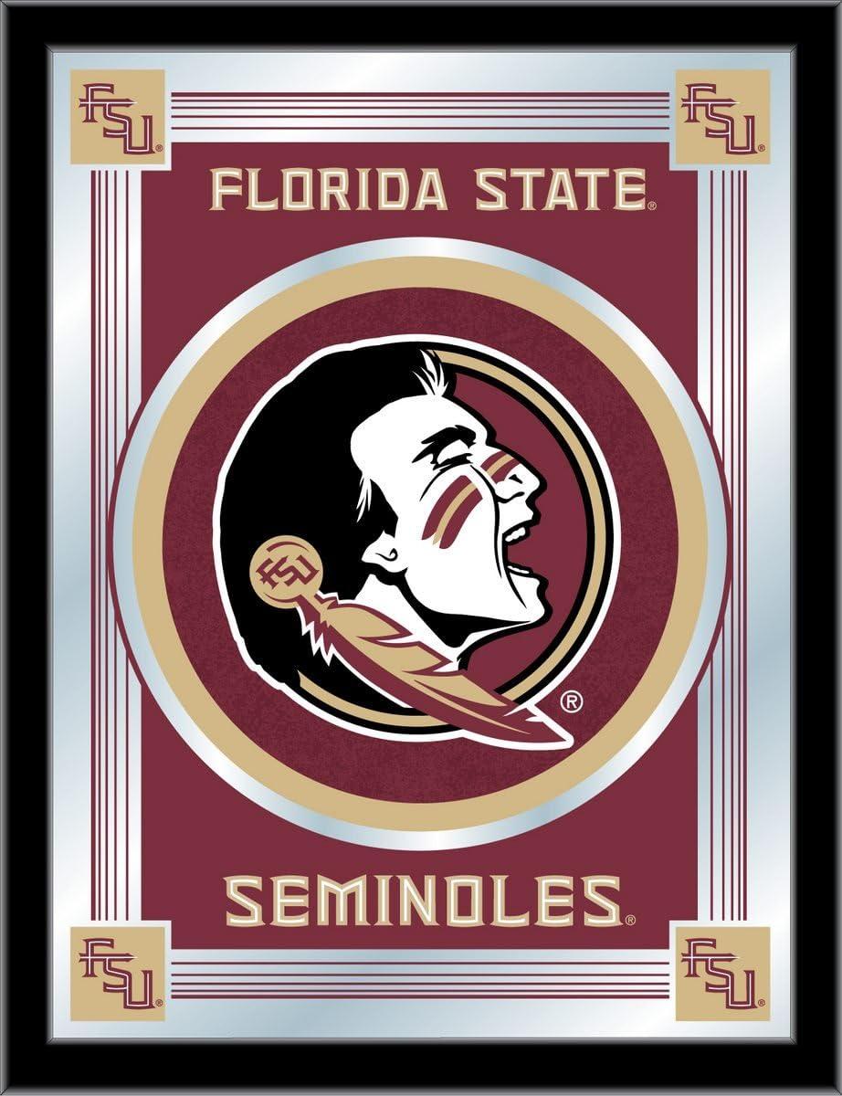Holland Ranking TOP12 Bar Stool Co. Florida Logo State Seminoles Head Mirror Quality inspection