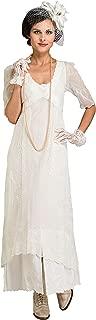Nataya 40007 Women's Titanic Vintage Style Wedding Dress in Ivory