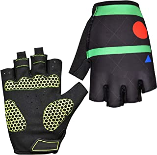 Half Finger Mountain Bike Fitness Gloves Sports Outdoor Cycling Fishing Fishing Rock Climbing Training Breathable Cool Non...
