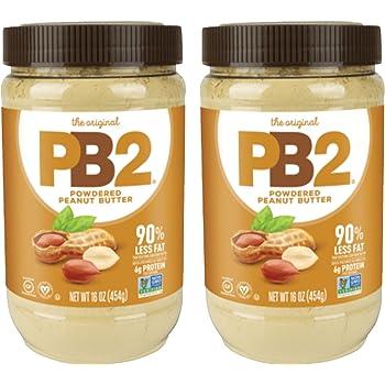 PB2 Original Powdered Peanut Butter Twin Pack [2-16oz Jars]