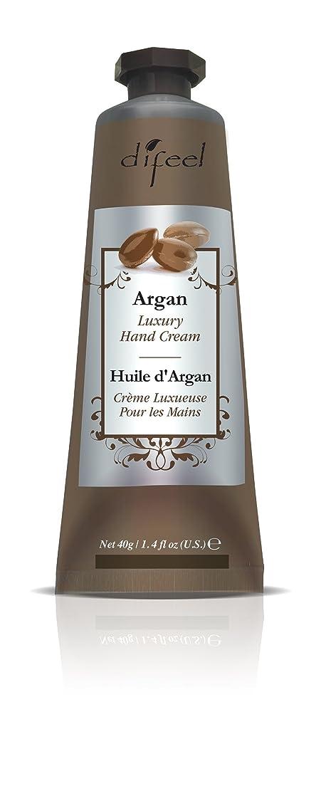 透ける調停する装備するDifeel(ディフィール) アルガン ナチュラル ハンドクリーム 40g ARGAN 12ARGn New York