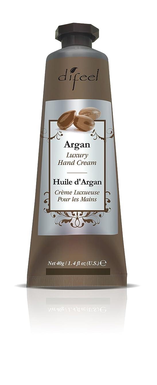 厚い警察署創造Difeel(ディフィール) アルガン ナチュラル ハンドクリーム 40g ARGAN 12ARGn New York