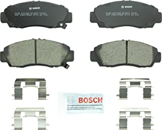 Bosch BC1506 QuietCast Premium Ceramic Disc Brake Pad Set For 2012-2014 Acura TSX and 2011-2012 Honda Accord; Front