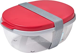 Mepal Ellipse Duo Lunch Box ABS Nordic Red One Size