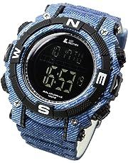 [ラドウェザー]ソーラー腕時計 メンズ時計 ミリタリーウォッチ 100m防水 サバゲ― ストップウォッチ