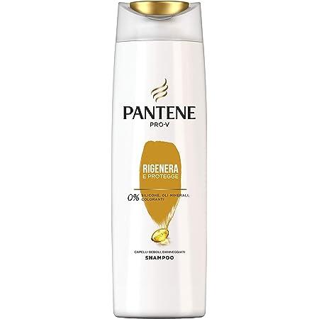 Pantene Pro - V Shampoo Rigenera & Protegge, Capelli Deboli o Danneggiati, 225ml