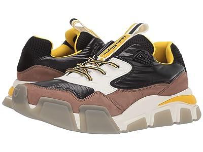 Salvatore Ferragamo Booster 8 Sneaker (Taupe/Black) Men