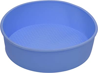 Zollyss Silicone Round Baking Cake Pan Mould - 1 Piece, Random Color