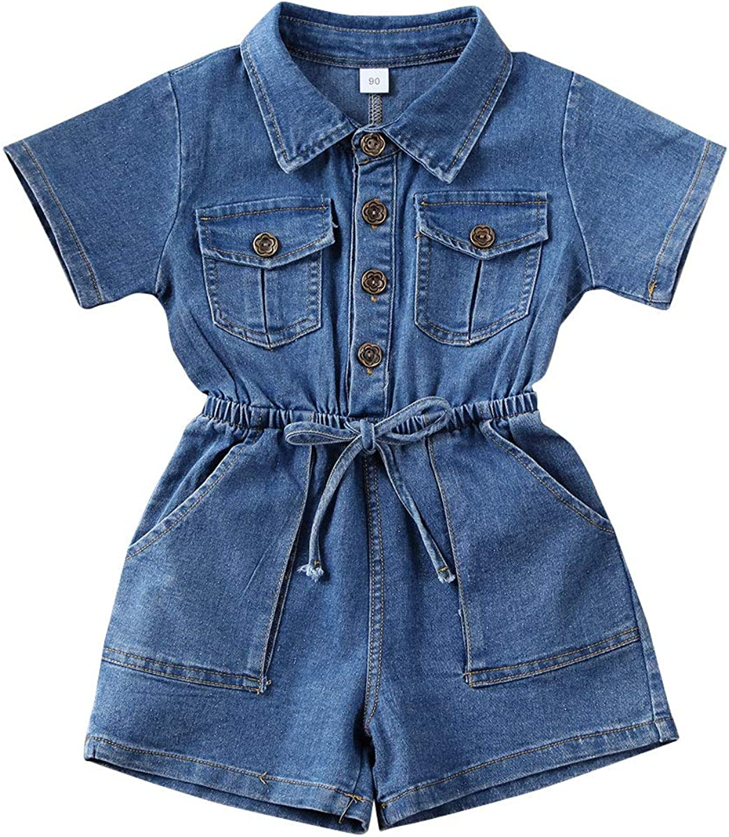 Ambabe Toddler Baby Girl Summer Clothes Sleeve One Factory outlet P Piece Short service