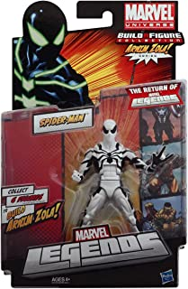 Marvel Legends 2012 Series 2 Action Figure SpiderMan White Suit Variant Arnim Zola BuildAFigure Piece NOT INCLUDED