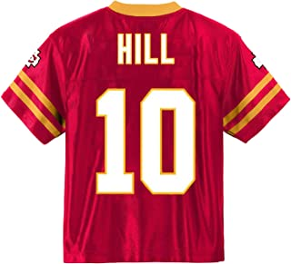 Outerstuff Tyreek Hill Kansas City Chiefs #10 Red Youth Player Home Jersey