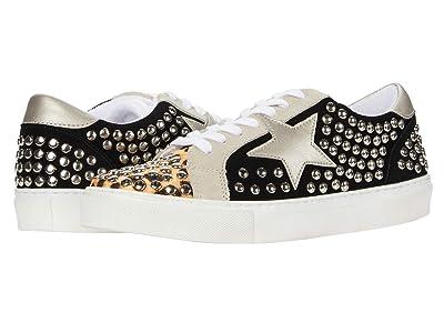 Steve Madden Turner-S Sneaker (Black/Stud) Women