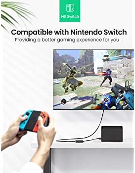 UGREEN Ethernet Adapter USB 2.0 to 10/100 Network RJ45 LAN Wired Adapter Compatible for Nintendo Switch, Wii, Wii U, ...