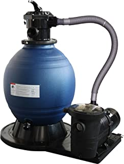 Blue Wave 18-Inch Sand Filter System with 1 HP Pump for Above Ground Pools