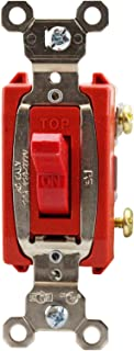 Legrand-Pass & Seymour PS20AC4RED 20A 120/277VAC B+S Wire 4W SW RD