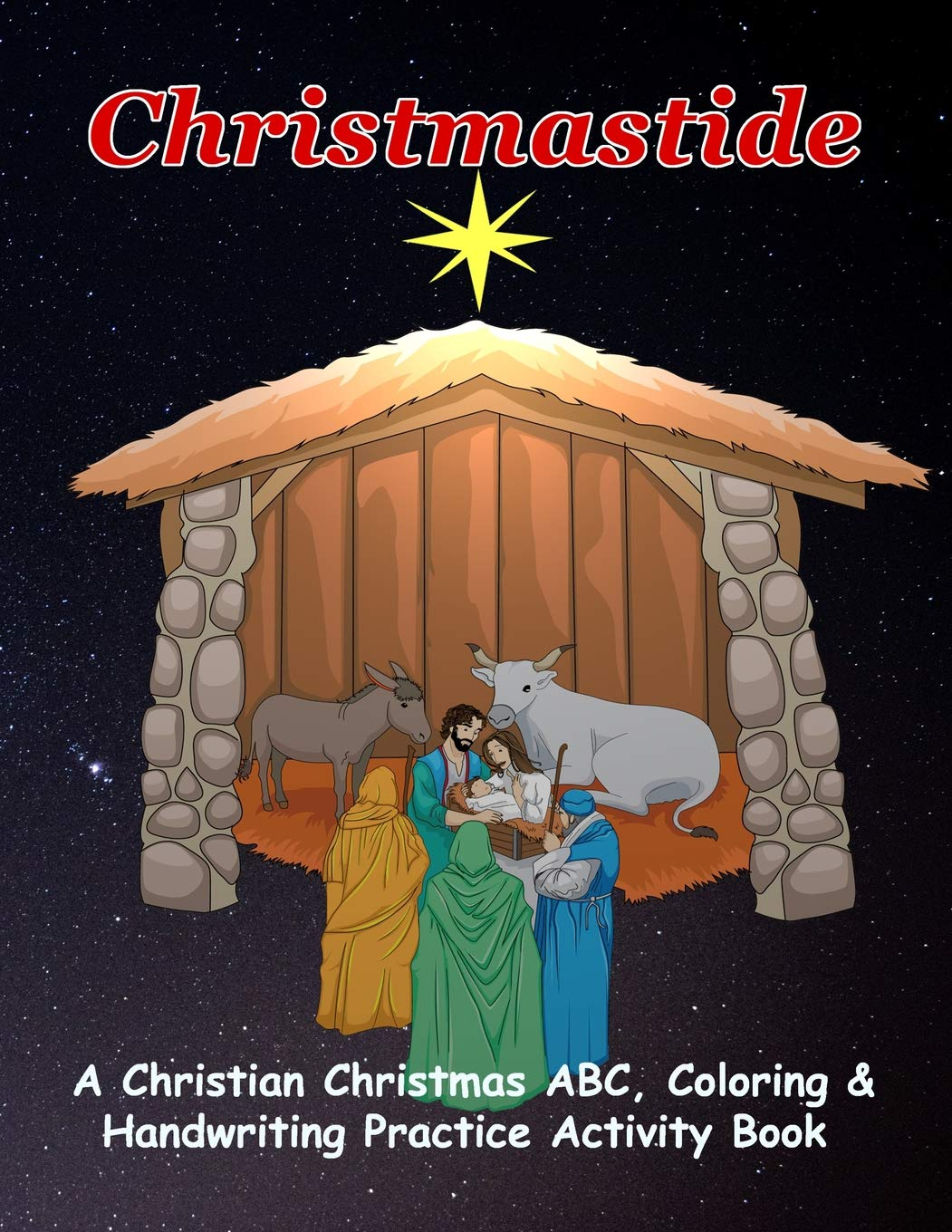 mortimers christmas manger coloring pages - photo#22