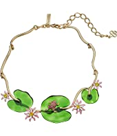 Oscar de la Renta - Resin Lily Necklace