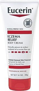 Eucerin Eczema Relief Cream - Full Body Lotion for Eczema-Prone Skin - 14 oz. Tube
