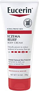 Eucerin Eczema Relief Cream – Full Body Lotion for Eczema-Prone Skin – 14 oz. Tube