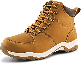 Kids Ankle Boots Boys Girls Outdoor Lace-up Hiking Shoes
