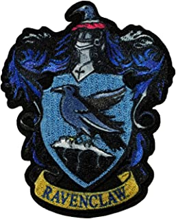 Harry Potter Ravenclaw Patch Hogwarts Crest House Embroidered Iron On Applique