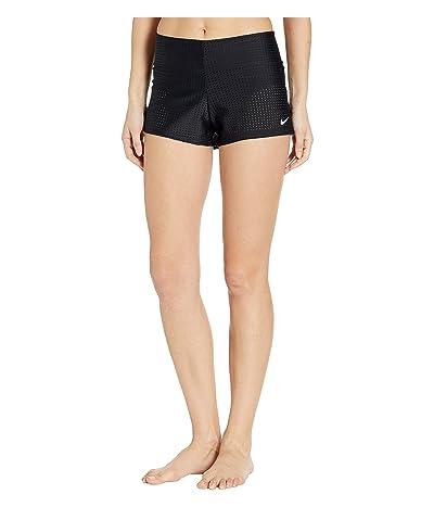 Nike Sport Mesh Swim Boardshorts (Black) Women